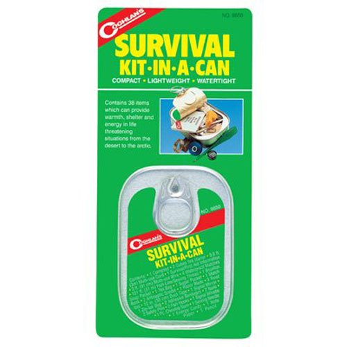 survival kit in a can