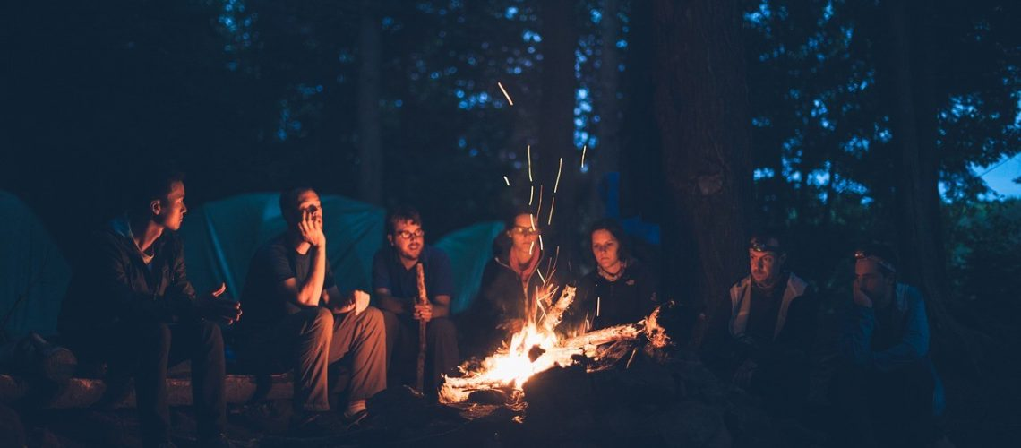how to build a good campfire